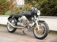 Andre's stunning Moto Guzzi T3 cafe racer - Squadra Guzzista