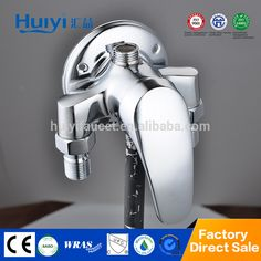 Brass chrome surface mounted european shower faucet HY-729