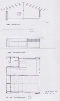 Kazuo Shinohara, House with an Earthen Floor, 1963 http://misfitsarchitecture.com/tag/kazuo-shinohara/