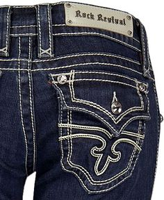 Rock Revival Jeans.  They make even a flat butt look fabulous.
