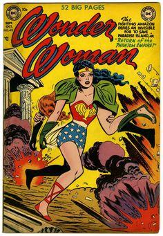 Irwin Hasen | Wonder Woman #49 | DC | 1951