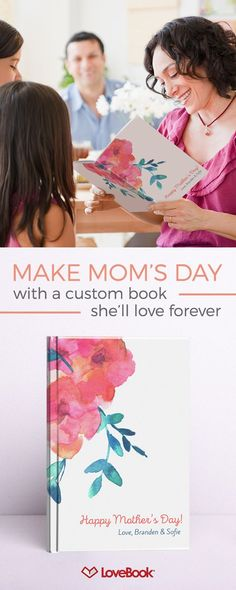 75cc05a2dde7 Bring a tear to Mom s eye this Mother s Day with a custom book just for Mom