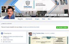 Alerta Hacienda sobre aparición de portal apócrifo de Facebook