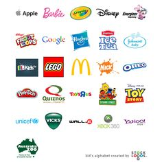 """The first letter my daughter could recognise was """"M"""" at around the age of two. She called it """"the McDonald's letter"""". Then came all the other letters. By the age of five she knew all the letters of the English alphabet. Brands play an important part of kids' life. They surround them starting from breakfast, throughout the day during playtime and all other activities till the goodnight story. Check out this alphabet made out of brands that kids are exposed to during the formative years of…"""