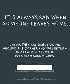 Sad songs about leaving home