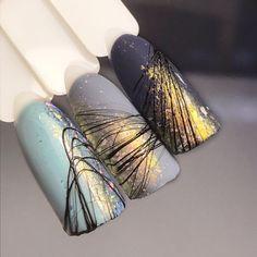 Spider Gel Nails - 100 Nice Ideas and 3 DIY Instructions! - Summer light blue nail polish # nails Informations Abou - Light Blue Nail Polish, Light Blue Nails, Cute Nails, Pretty Nails, My Nails, Polish Nails, Nagellack Trends, Halloween Nail Art, Nagel Gel