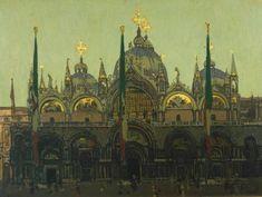 Venice, la Salute - Walter Sickert - ca. 1900, WikiPaintings.org
