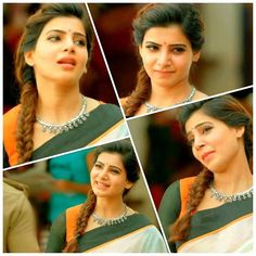 Samantha Ruth Prabhu in ! Get this blouse custom made for you WhatsApp : South Actress, South Indian Actress, Beautiful Indian Actress, Beautiful Actresses, Samantha In Saree, Samantha Ruth, Actor Picture, Actor Photo, Indian Actresses