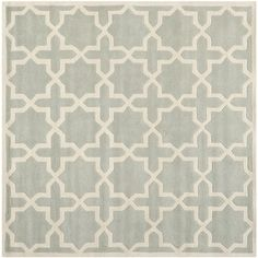 @Overstock.com - Safavieh Handmade Moroccan Chatham Grey Wool Rug (8'9 Square) - A contemporary design and dense, thick pile highlight this handmade rug inspired by Moroccan patterns with today's updated colors.  http://www.overstock.com/Home-Garden/Safavieh-Handmade-Moroccan-Chatham-Grey-Wool-Rug-89-Square/8079898/product.html?CID=214117 AUD              527.60