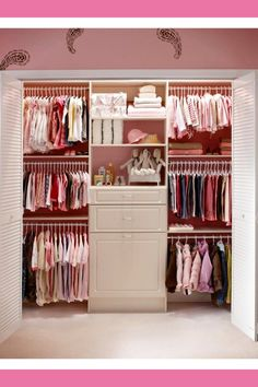 {Nursery Closet Organization} Easy DIY Baby Closet Pictures U0026 Ideas