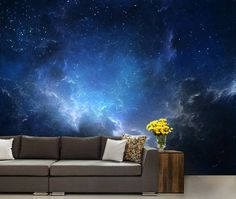 Ceiling Galaxy Ceiling Wallpaper Nebula Wall Mural