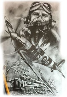Guerra 1 Army Tattoos, Military Tattoos, Sleeve Tattoos, Aviation Tattoo, Aviation Art, Spitfire Tattoo, Airplane Tattoos, War Tattoo, Design Tattoos