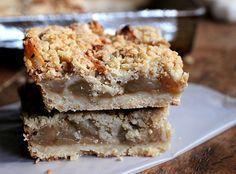 Cuadrados de Manzana, Canela y Crumble - Cocina Central