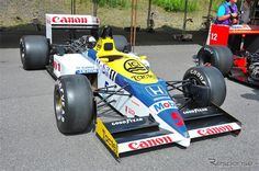 Williams HONDA FW11 Nigel Mansell