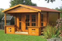 Heino log cabin