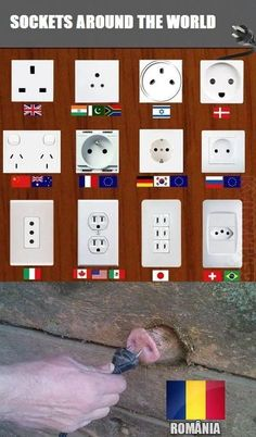 electricity socket around the world Funny Pictures Images, Funny Animal Pictures, Funny Animals, Best Memes, Dankest Memes, Jokes, Redneck Humor, The More You Know, Funny Games
