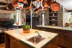 The kitchen, Kim Delaney's Beverly Hills home