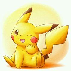 Pikachu saying hi