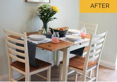 Pretty kitchen table