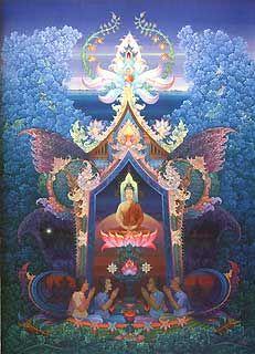Chalermchai Kositpipat's work <3 Also on 'Thai Temple Art' <3