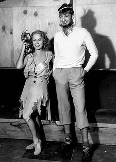 Vintage Halloween Happenings!  Fay Wray and Gary Cooper, 1933