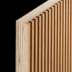 Gefräste Platten Wood Slat Wall, Wood Panel Walls, Wood Slats, Wooden Wall Design, Wall Panel Design, House Cladding, Wood Cladding, Modern Tv Room, Wood Wainscoting
