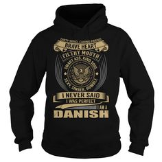 DANISH Last Name, Surname T-Shirt