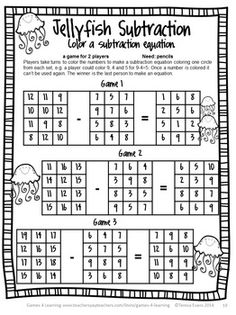 NO PREP Math Game from End of Year Math Games Second Grade by Games 4 Learning  Just print and hand out! :) $