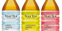 Teas'Tea package design by thegooder.com - featured on The Dieline