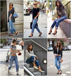 How to Chic: 6 BOYFRIEND JEANS STREET STYLE INSPIRATIONS