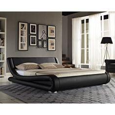 Home Loft Concept Linea Upholstered Bed Frame & Reviews | Wayfair.co.uk