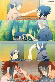 <3 Itachi loved him so much <3