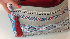 Tuto Couture - Sac enveloppe Ethnique