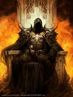On a mountain of skulls, in the castle of pain, I sat on a throne of blood!