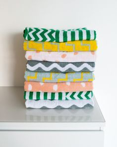 Set of Four Beach Towels
