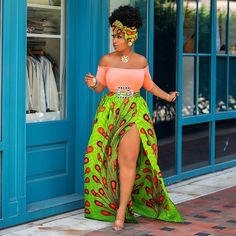27 Latest Ankara Skirt Styles You Should Check Out trendy ankara styles African Print Dresses, African Print Fashion, Africa Fashion, African Fashion Dresses, African Dress, African Prints, Ankara Fashion, Trendy Ankara Styles, Ankara Gown Styles