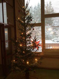 Joulun tuntua lumisateessa
