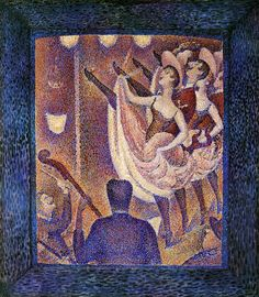 Study for 'Chahut' by Georges Seurat #art