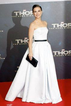 natalie Portman vestido Dior