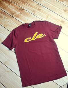 CLE Cleveland shirt by PiperAndStone on Etsy