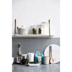 Apart hylla, vit marmor/mässing i gruppen Möbler / Förvaring / Hyllor hos RUM21.se (Housedr3)