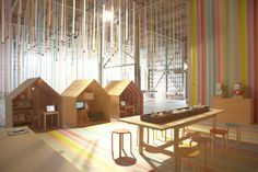 Huts for kids