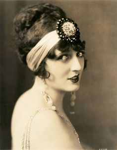 Silent Film Actress Carmel Myers