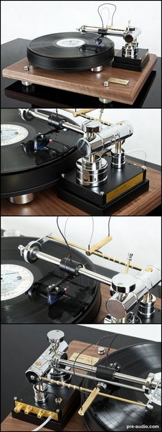 Turntable ASP-1501N, with linear air bearing tonearm (one of the models if You will hear then You will never have to buy a next turntable). pre-audio.com