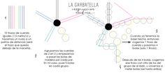 DIY: macetero colgante con bolas de madera . La Garbatella: blog de decoración low cost, Home Staging, estilo nórdico, ideas para decorar y DIY.