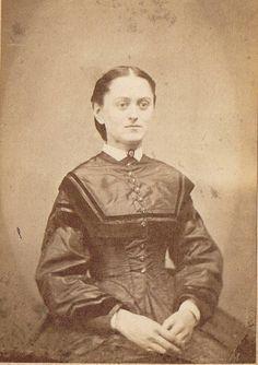 "Henrietta ""Hettie"" Amelia Bennett (1844-1868), lived in Bainbridge, NY"