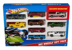 Hot Wheels 9 Car Gift Pack  - http://www.kidsdimension.com/hot-wheels-9-car-gift-pack/