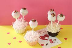バレンタインにインパクト大! 簡単かわいいロリポップケーキ