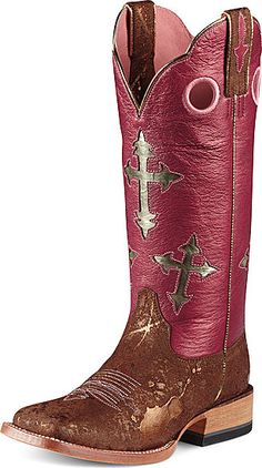 Ariat Cross Ranchero Boots. I could so rock these boots!