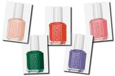 Fab Five: Essie Nail Colors for Spring 2016 by Style e Grace  #FabFive, #Fashion